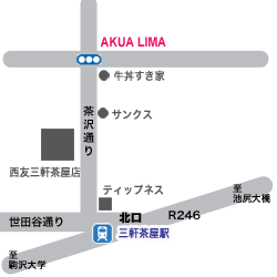 アクア・リマ Map